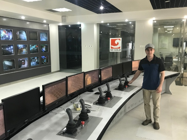 Breaker Technology Breaker Intel System at Shandong Gold in China-600x450